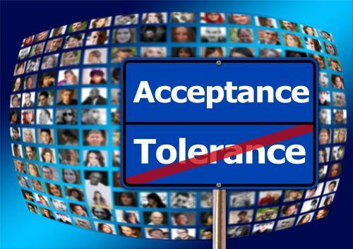 acceptance tolerance human