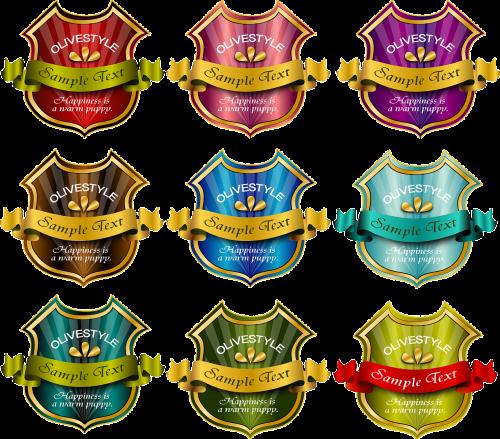 accolade badge ribbon
