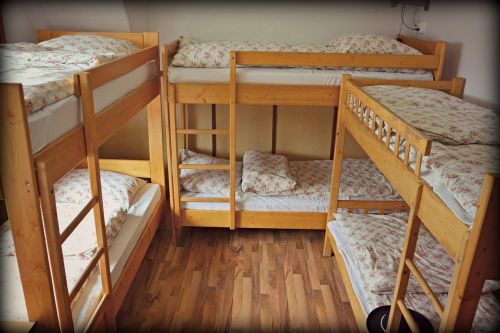 bunk beds accommodation house