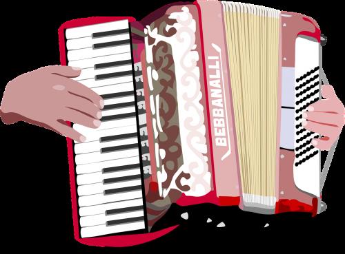 accordion hands music