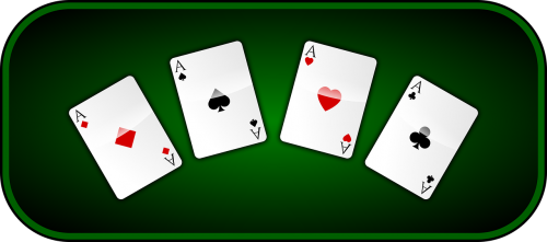 aces playing cards casino