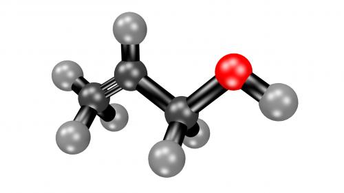 acetone molecule structural formula