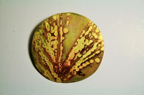 Acid Patterns On Metal, Decorative