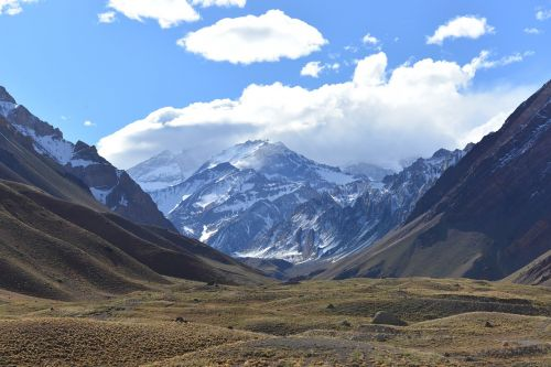 andes mountain aconcagua
