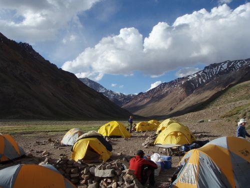 aconcagua camp tents