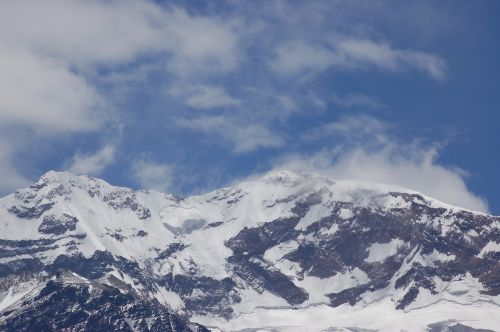 aconcagua mountain andes