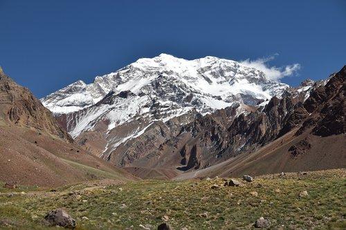 aconcagua  argentína  mountain