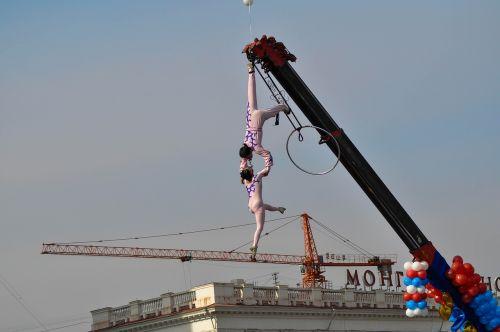 acrobat circus performance
