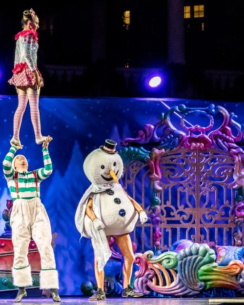 acrobats cirque du soleil stunt