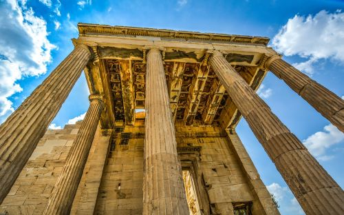 acropolis parthenon ancient