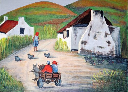 acrylic landscape painting artwork