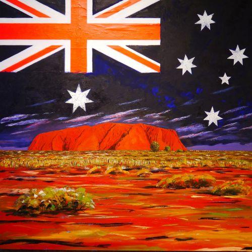 acrylic paints image painting
