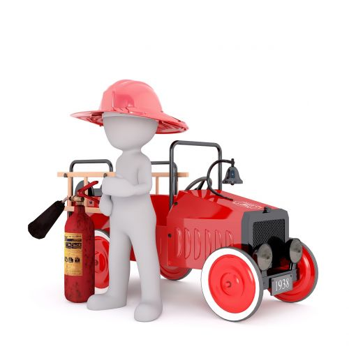 fire fighter fighter fire extinguisher