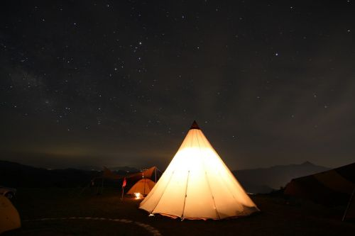 active mountain star camping