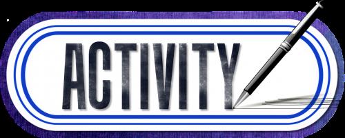 activity pen icon