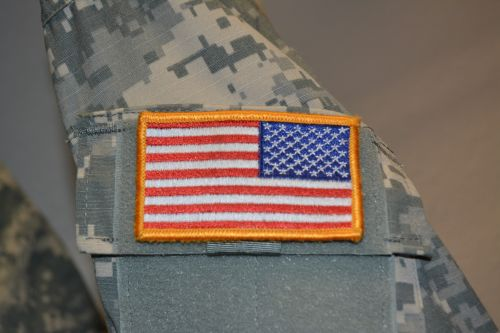 ACU Military Red White Blue