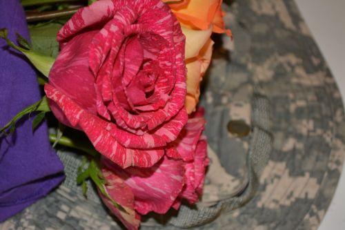 Acu Pattern Love Flowers Love