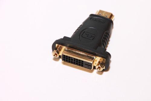 adapter converter dvi