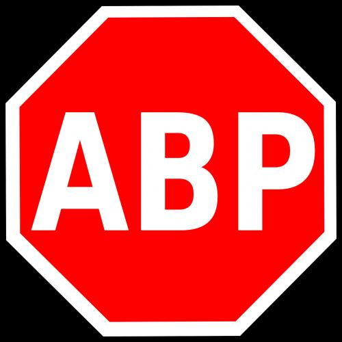 adblock plus logo octagon