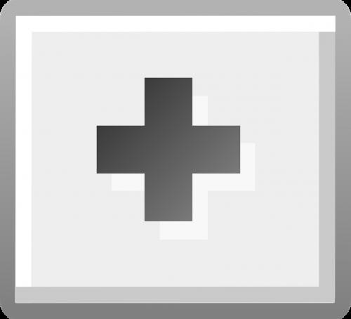 add button gray