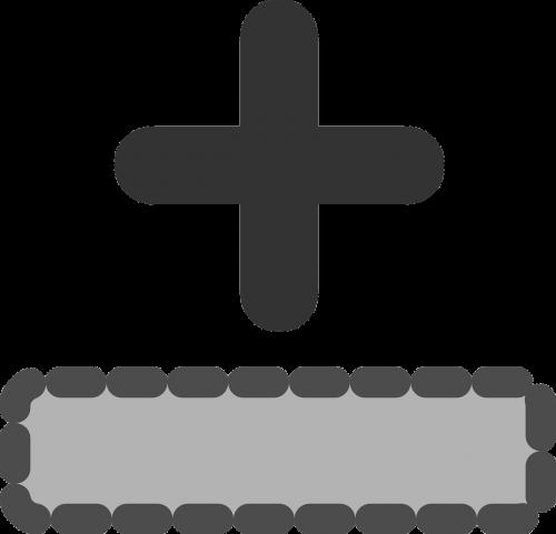 add row symbol