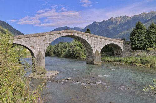 adda river romanesque bridge ganda bridge
