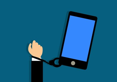 addiction  smartphone  addict