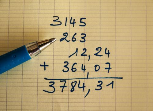 addition calculations operation