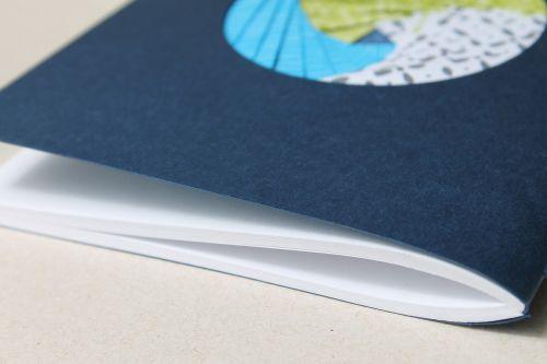 address book iris paper