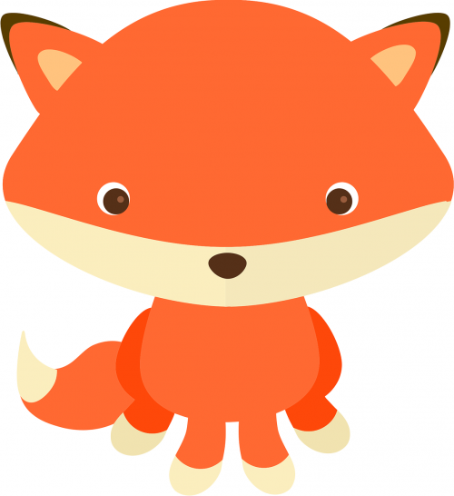 adorable adorable fox animal