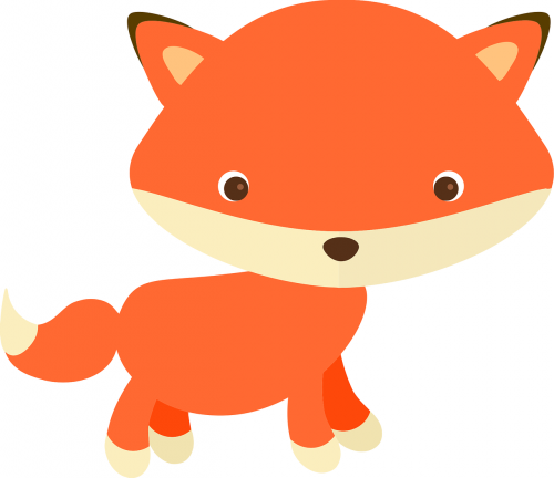 adorable adorable fox alphabet word images