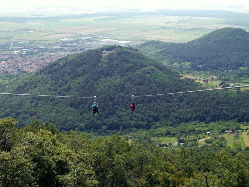 adrenaline the cable car hungary