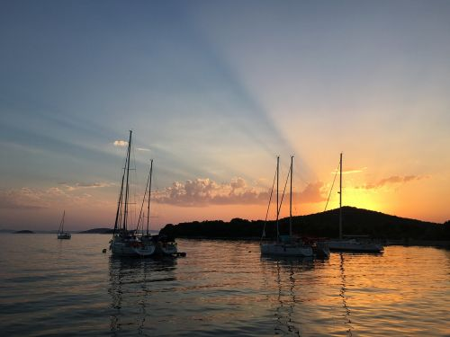adriatic sea croatia yacht