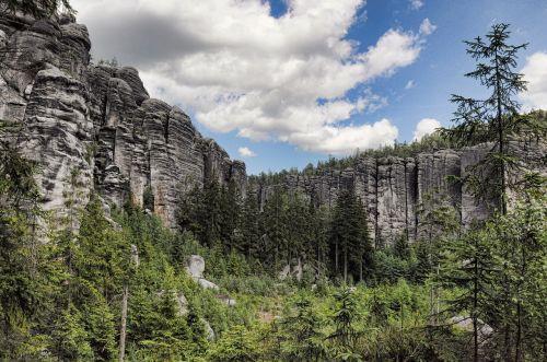 adršpašské rocks rocks nature