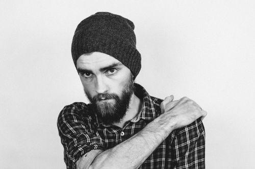 adult beanie beard
