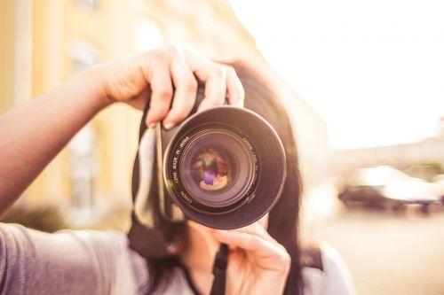 adult blur camera