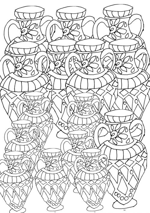 adult coloring page coloring book