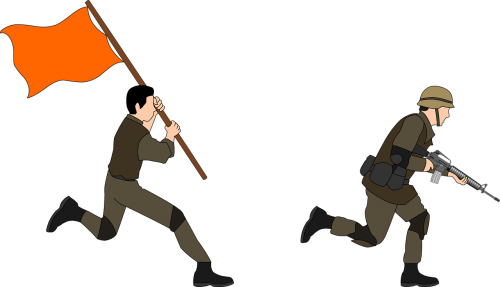 advance army battle