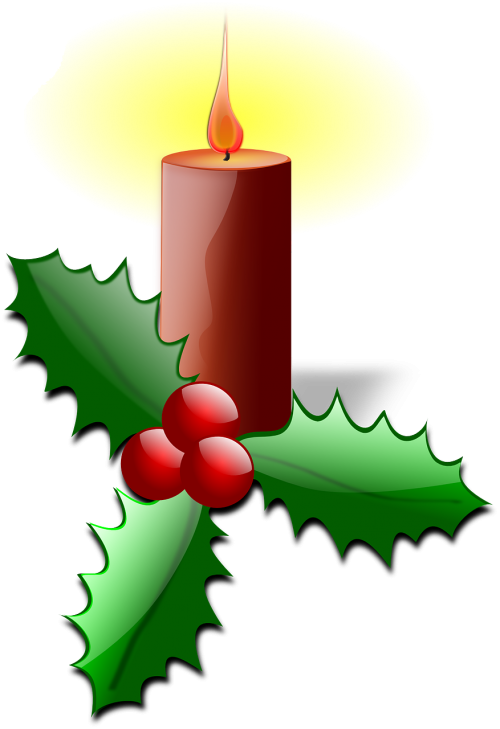 advent candle flame