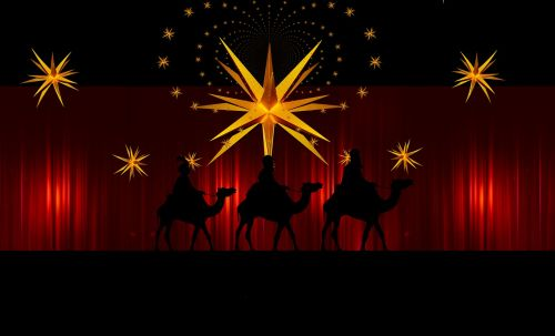 advent star curtain