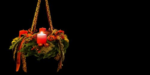 advent christmas time advent wreath