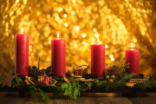 advent fourth candles