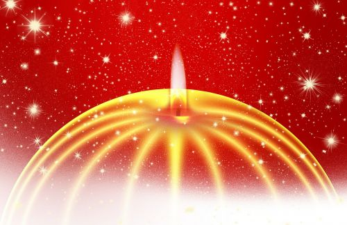 advent candle star