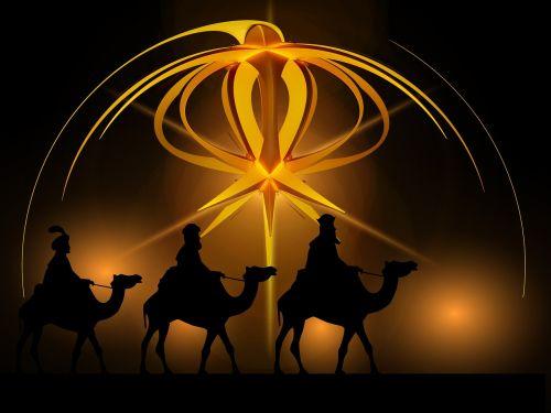 advent star holy three kings