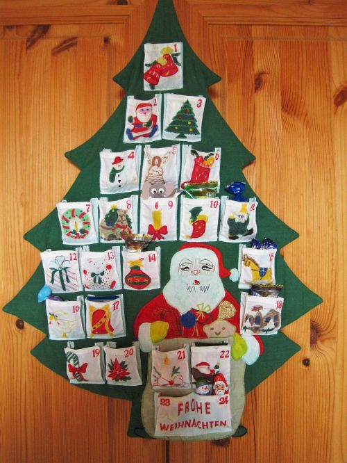 advent calendar 24 bags anticipation