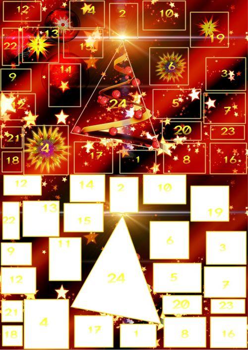advent calendar advent door