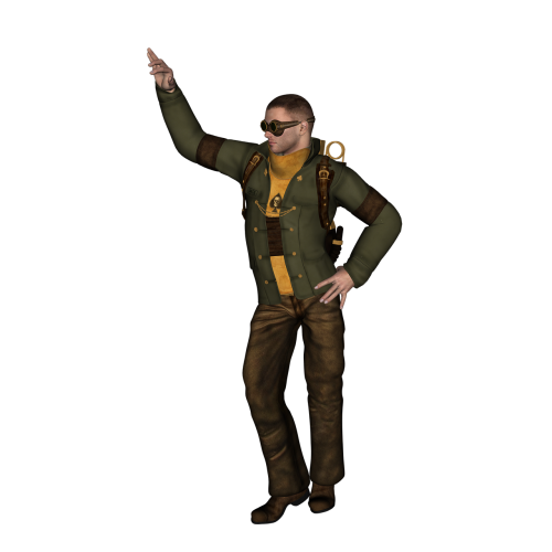 adventure apocalypse man