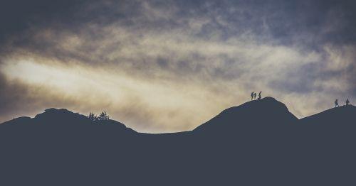 adventure clouds dawn
