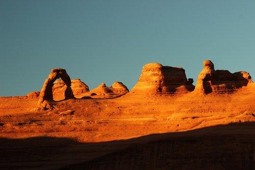 Nuotykių, arka, Arkų nacionalinis parkas, arka, Canyon, dykuma, paminklas, Nacionalinis parkas, pobūdį, oranžinė, lauke panorama, parkas, Red Rock, smėlio dekoracijos, akmuo, saulė, Sunrise, saulėlydžio, Turizmas, kelionė, Juta, slėnis, raudona, geltona, JAV