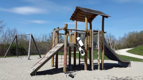 adventure playground playground slide